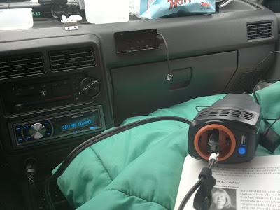 Car inverter, Cotech 150 watt