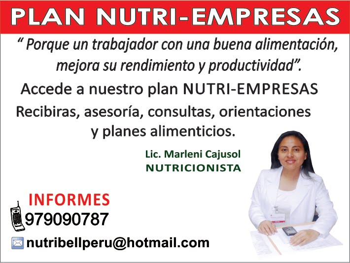 PLAN NUTRI-EMPRESA