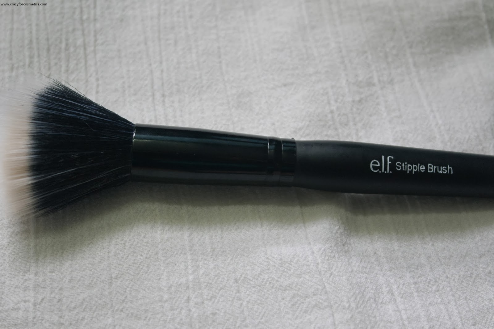 ELF Stipple Brush review- ELF Duo Fiber Brush review-Duo Fiber Brush review