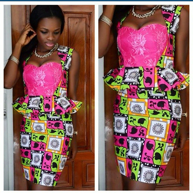 Www.Ankara Skirt And Blouse 88