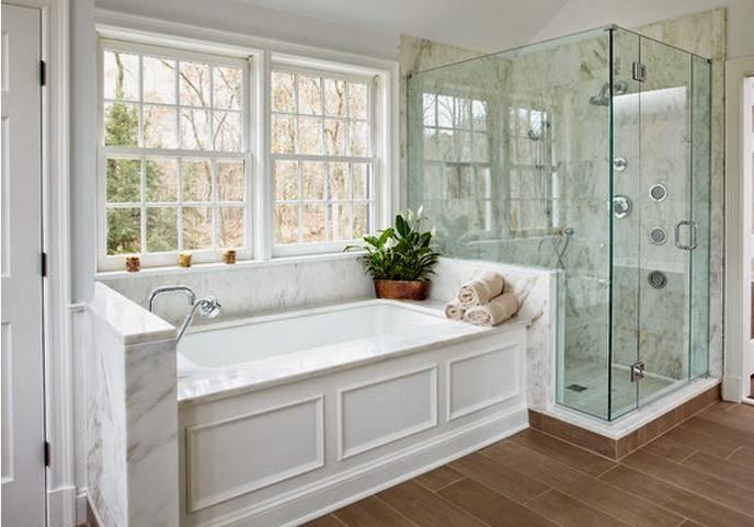 salle de bain avec baignoire et douche ex05 jornalagora. Black Bedroom Furniture Sets. Home Design Ideas
