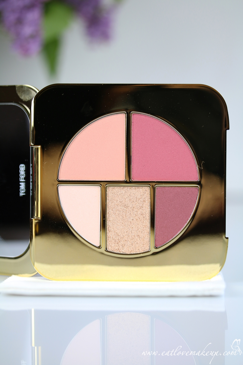 Tom Ford Pink Glow Eye And Cheek Compact Palette