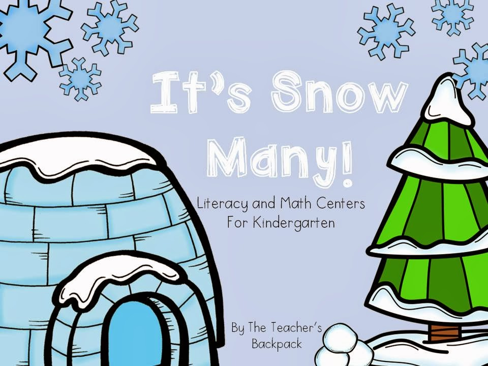 http://www.teacherspayteachers.com/Product/Its-Snow-Many-Literacy-and-Math-Activities-for-Kindergarten-1044545