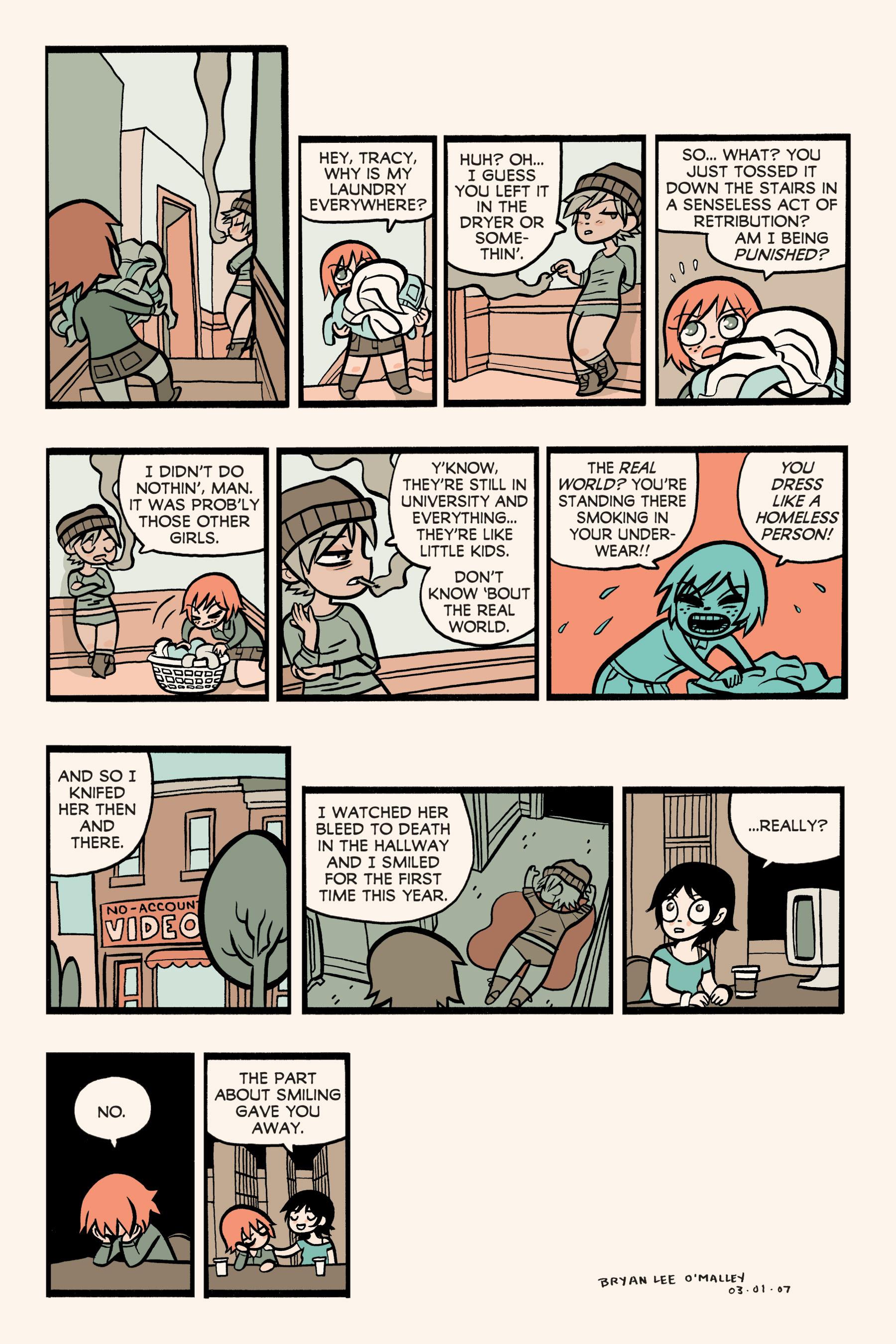 Read online Scott Pilgrim comic -  Issue #3 - 198
