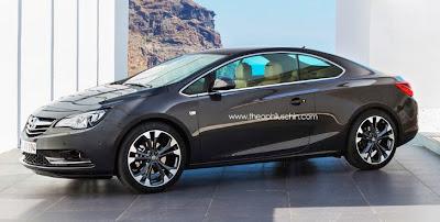 Opel Calibra Revival Rendering