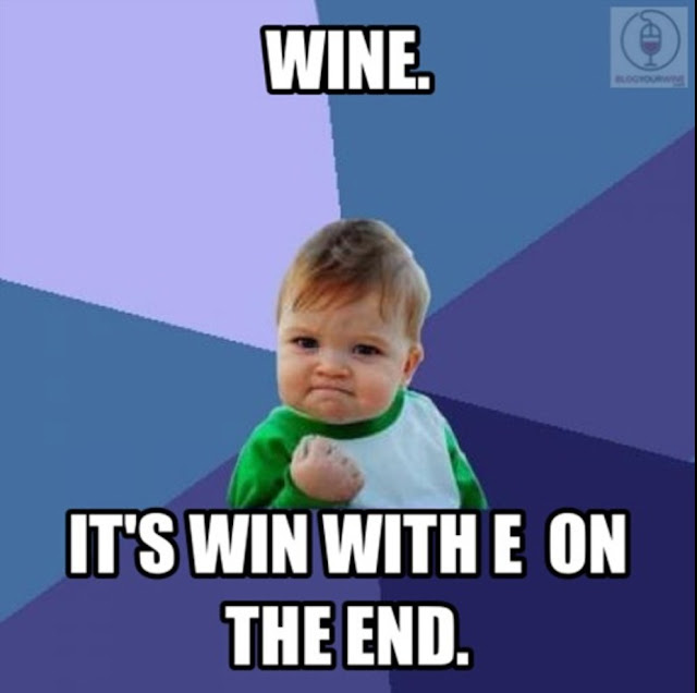 Success kid wine meme - www.blancdeblancs.fi