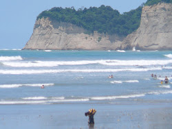 Near Perfect Beach: La Playa at Canoa