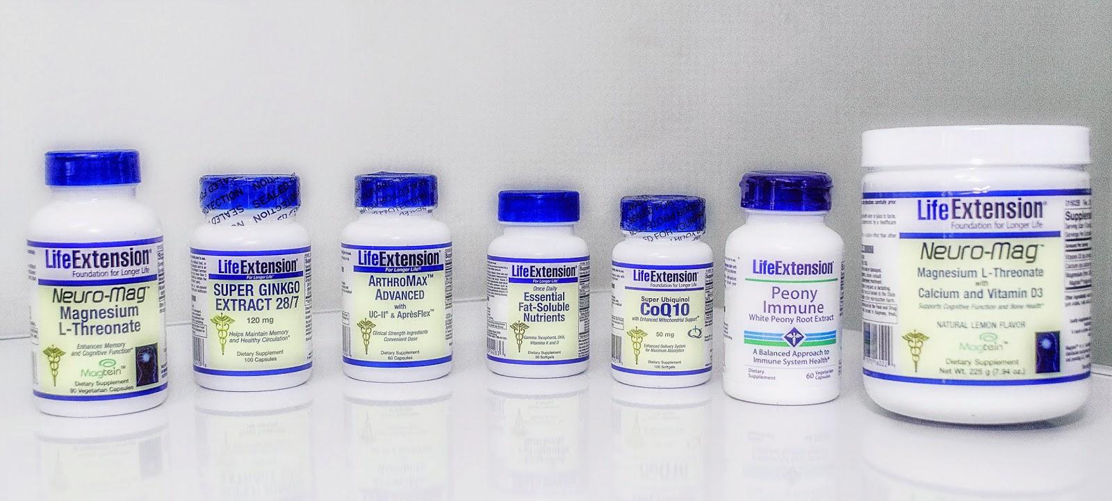 NUTRI - VIDA: Productos LIFE EXTENSION disponibles en