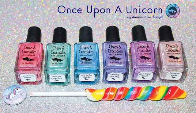 """Once Upon A Unicorn Collection"" from Chaos & Crocodiles"