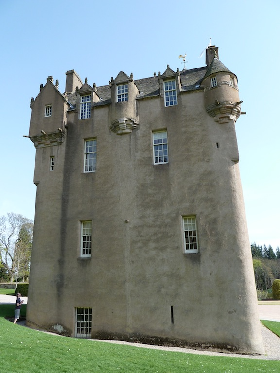 Scottish Baronial House Plans