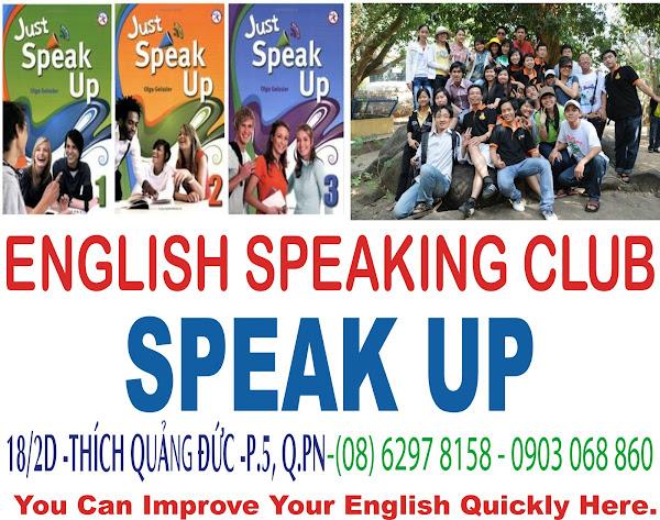 SPEAK UP - ENGLISH CAFE