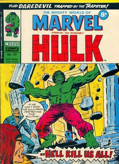 Mighty World of Marvel #133, The Hulk