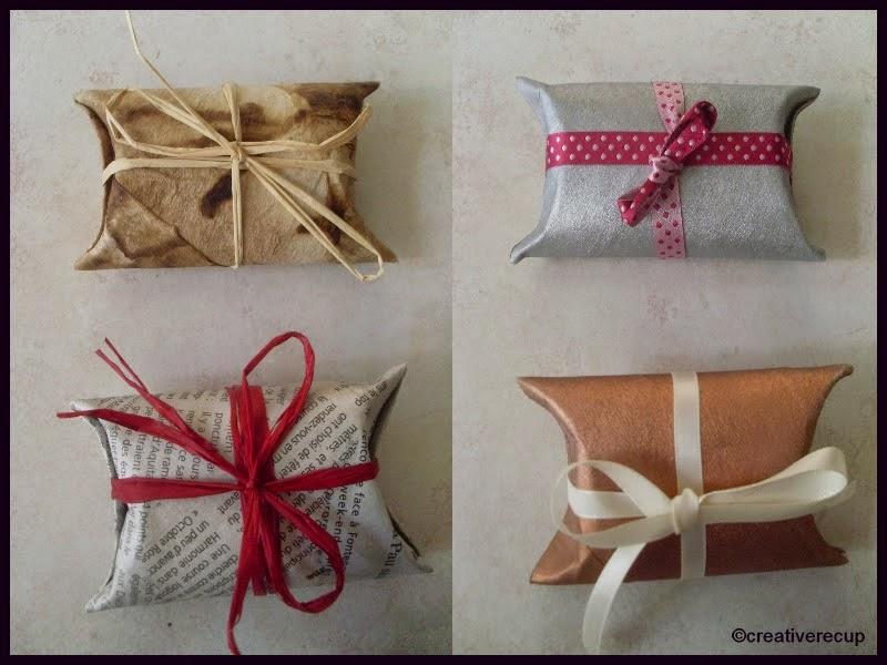 Bien connu Pochette Cadeau en Rouleau de Papier Toilette | Créative Récup' SA87