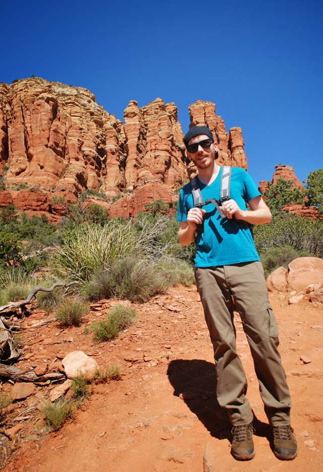 Hiking Broken Arrow Trail to Chicken Point in Sedona, Arizona | Em, Then Now When