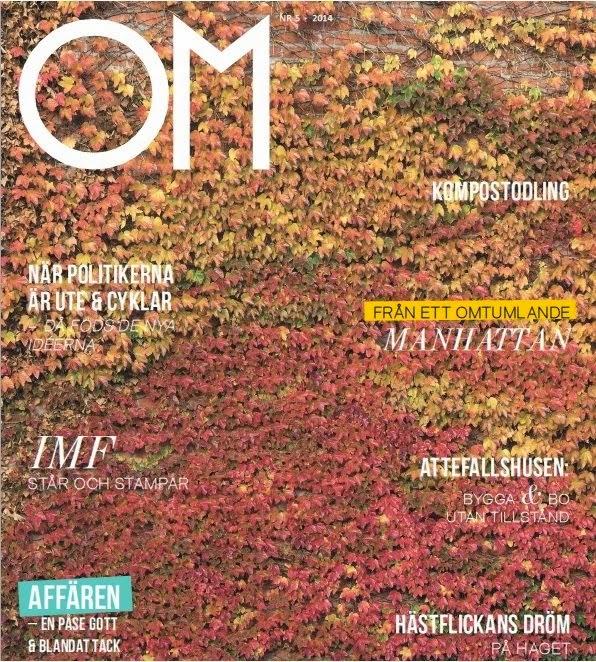 Tidningen Om Omställning, där Johan Landgren skriver artiklar och är redaktör