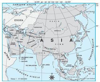 Keadaan dan Bentang Alam Benua ASIA