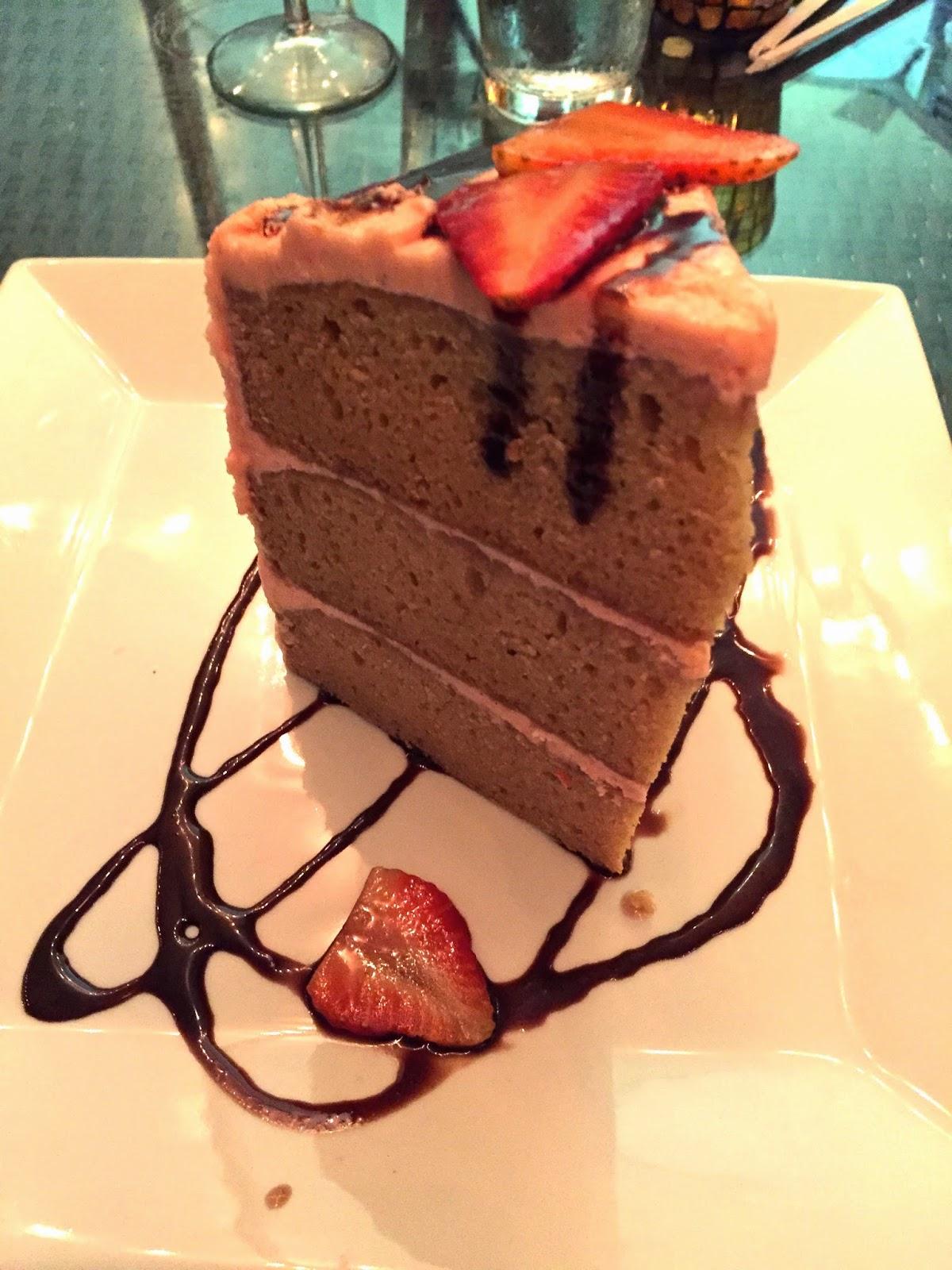 Vegan Dessert Strawberry Layer Cake