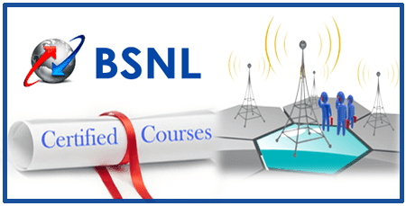 BSNL Certified RF Engineer Course on 3G 4G LTE Services