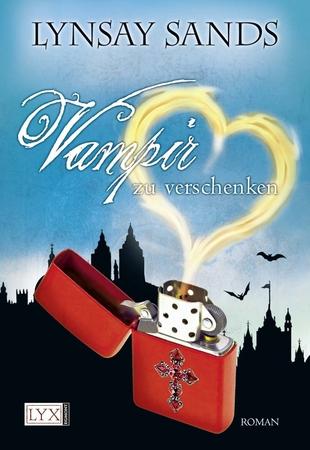 http://www.amazon.de/Vampir-zu-verschenken-Lynsay-Sands/dp/3802587898/ref=sr_1_1?ie=UTF8&qid=1398277501&sr=8-1&keywords=vampir+zu+verschenken