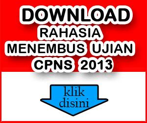 download kumpulan soal CPNS 2013