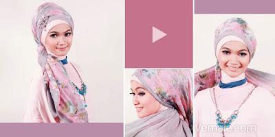 Cara Memakai Jilbab Pashmina Untuk Acara Resmi