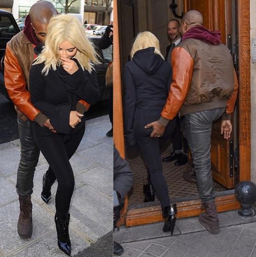 Ass in public