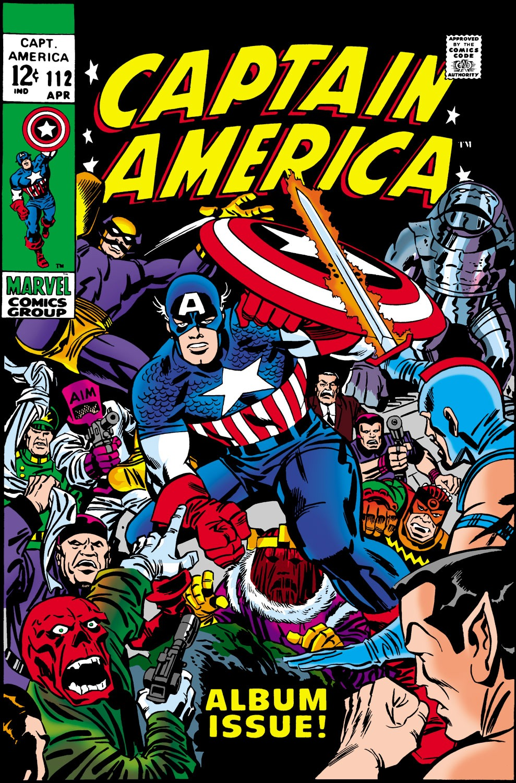 Captain America (1968) Issue #112 #26 - English 1