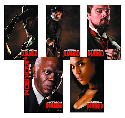 NECA Django Unchained Figure Line-Up