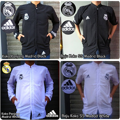 Baju Muslim Koko Bola Real Madrid