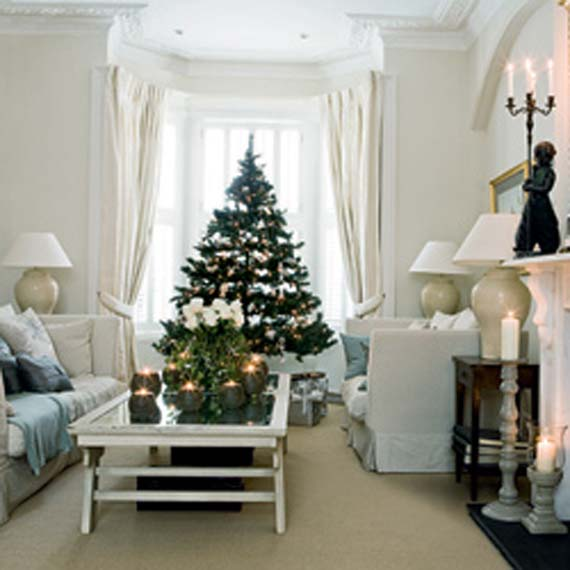 Inspirational letters by millie 20 days of holiday Christmas decoration in living room