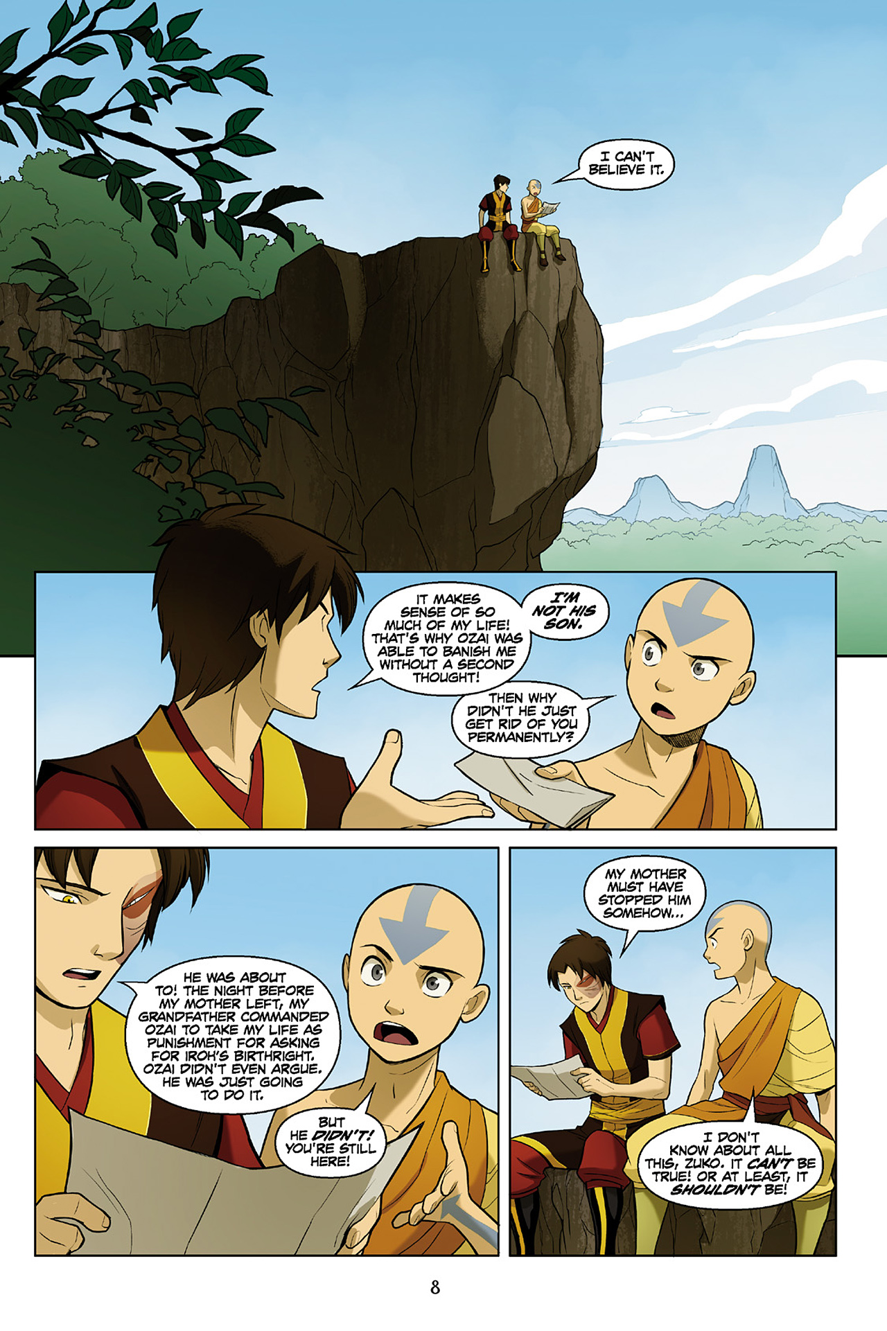 Read online Nickelodeon Avatar: The Last Airbender - The Search comic -  Issue # Part 2 - 9
