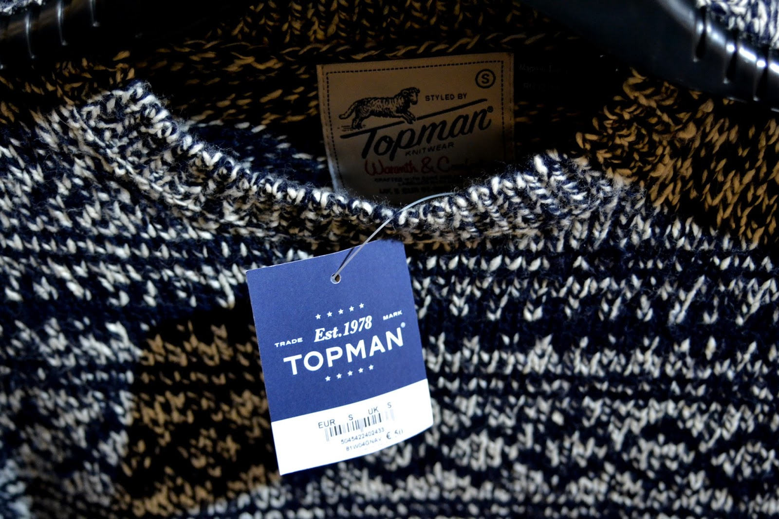 topmen topshop pullover