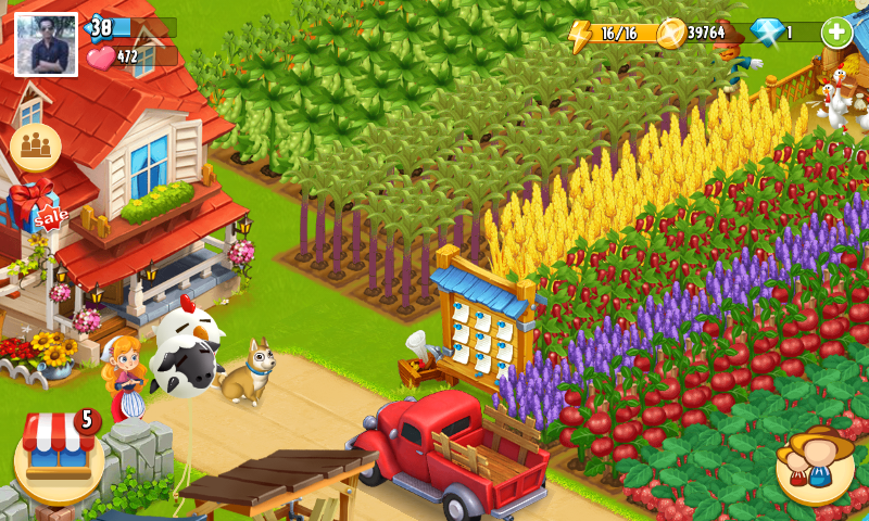 happy farm online