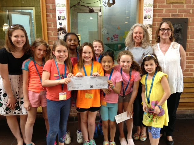 Thank you Aidan Montessori             School Girls on The Run