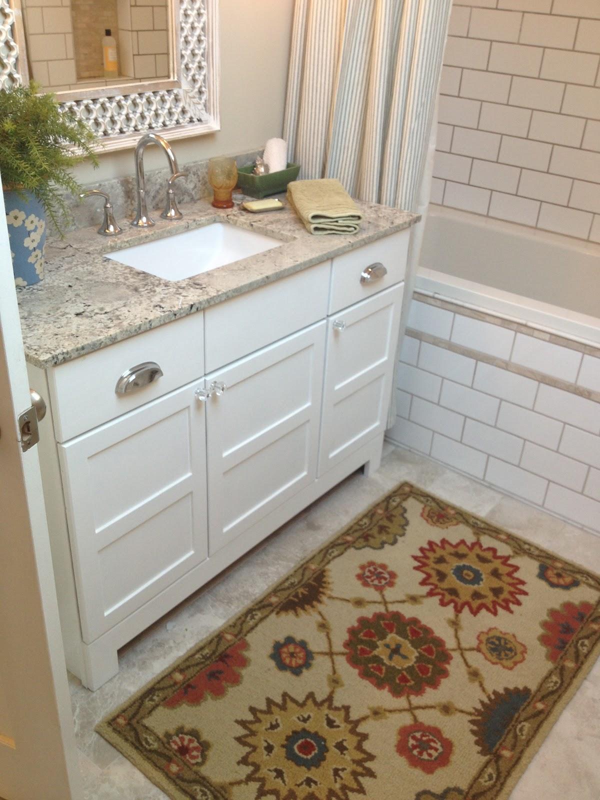 Amy scott interior design bathroom tour attic renovation for Megan u bathroom tour