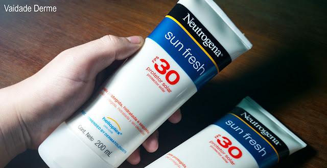 Neutrogena Sun Fresh Corpo FPS 30 Loção Protetor Solar