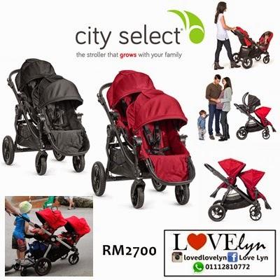 Baby Jogger City Select Tendem Stroller Lovelyn