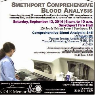 9-13 Smethport Comprehensive Blood Anallysis