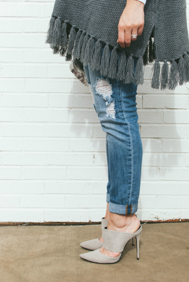 Carolina Style Connection, Fringe Poncho