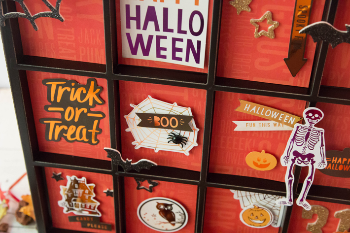 Too Cute to Spook Printers Tray by @createoften for Halloween