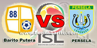Hasil pertandingan barito VS persela
