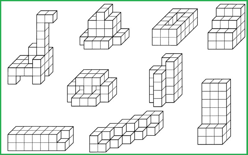 Как сделать рисунок из кубиков