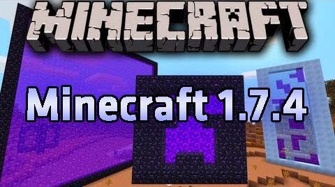 Minecraft 1.7.4 Full Tek Link İndir