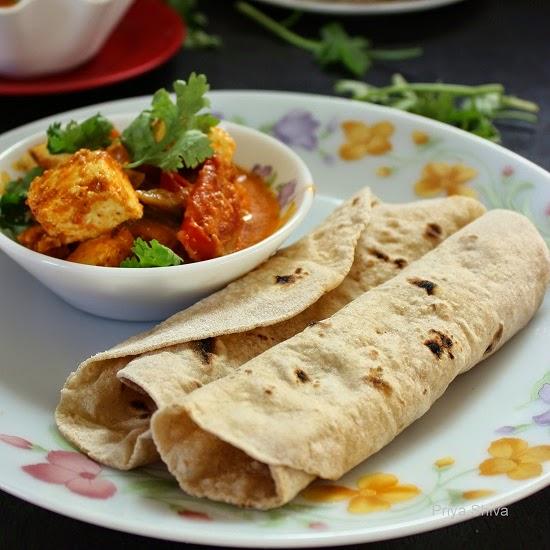 roti, Indian flat bread, how to make soft phulka