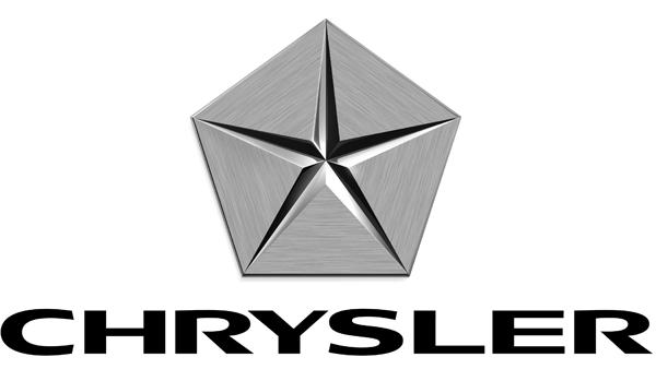 Chrysler Logo on Automobile Asbaquez