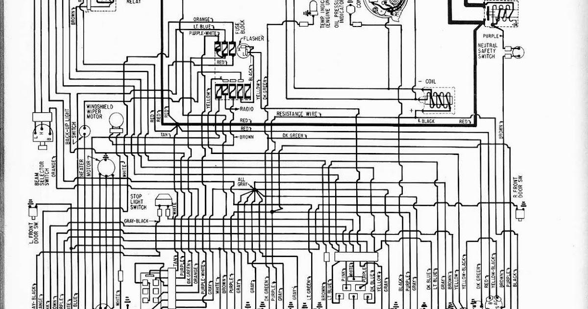 Free Auto Wiring Diagram  1961 Pontiac Tempest Wiring Diagram