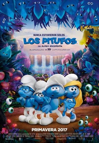 Los Pitufos en la aldea perdida (2017) [BRrip 720p] [Latino] [MG]