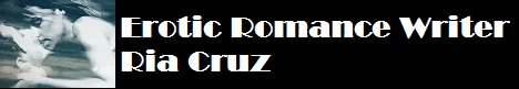 Erotic Romance Writer, Ria Cruz