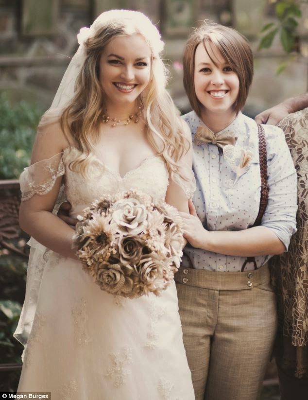 фото свадьбы лесби