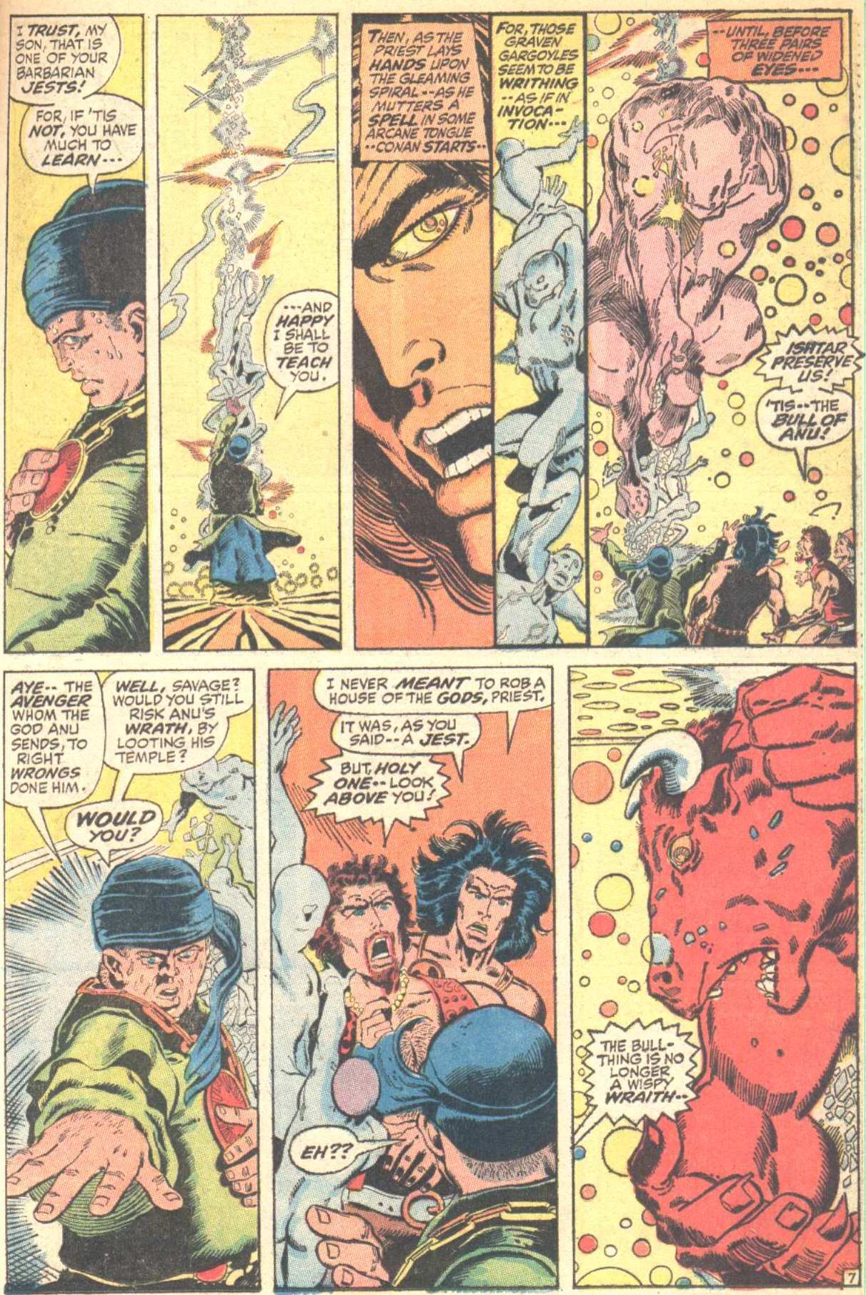 Conan the Barbarian (1970) Issue #10 #22 - English 8